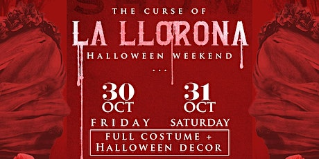 La Llorona Halloween FRIDAY tickets