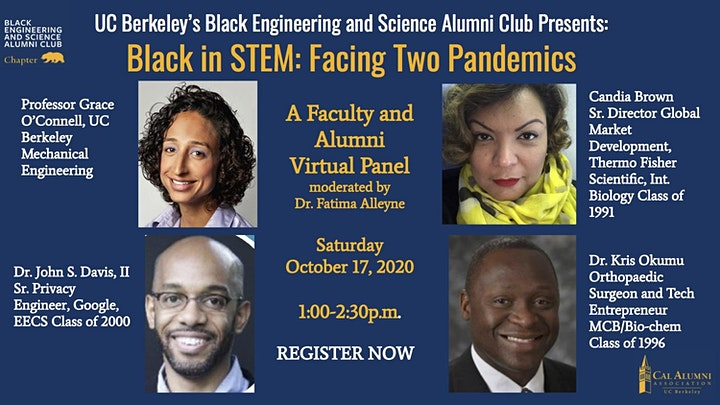 BESAC Presents:  Black in STEM - In the Face of Two Pandemics image