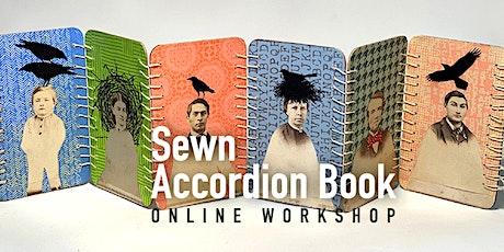 Sewn Accordion Book Online Workshop tickets