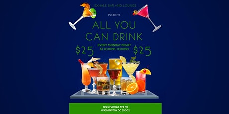 $25 All You Can Drink Mondays tickets