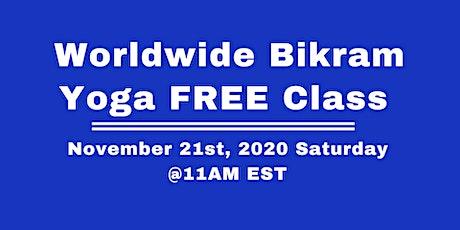 Worldwide Bikram Yoga Thanksgiving Free Class Nov 21st tickets
