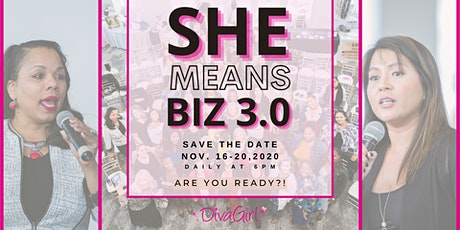 She Means Biz 3.0 Conference tickets
