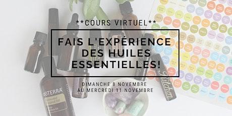 Fais l'expérience des huiles essentielles en NOVEMBRE! billets