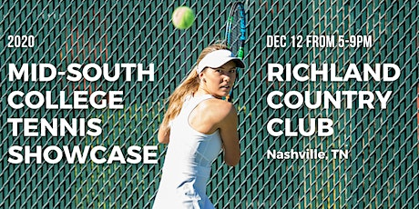 2020 Mid-South College Tennis Showcase tickets