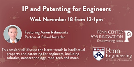 IP and Patenting for Engineers tickets