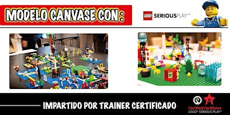 Modelo canvase  con Lego Serious Play tickets