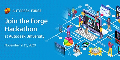 Autodesk University - Forge Hackathon tickets