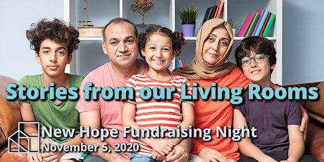 Stories from our Living Rooms: New Hope Fundraising Night tickets