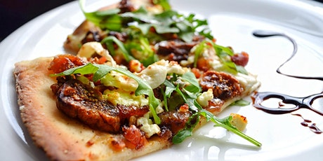 Fig and Three Cheese Pizza and Squash soup interactive online cooking class tickets