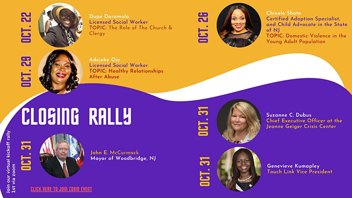 Virtual Rally and Walk Against Domestic Violence image