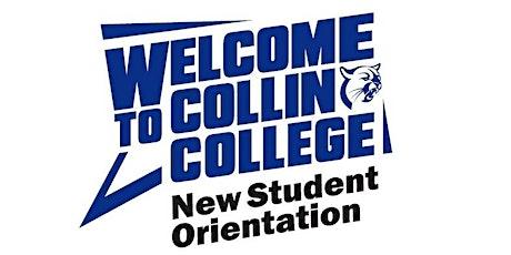 Collin College New Student Orientation-Virtual In-Person Session-Dec 3 tickets