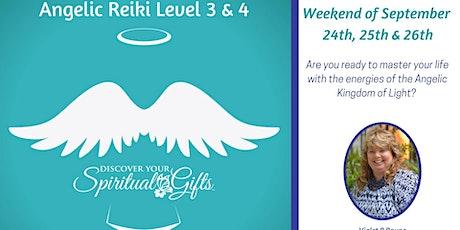 Angelic Reiki Levels 3 & 4 tickets