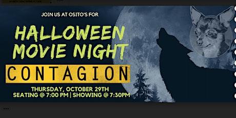 Halloween Movie Night, Featuring: Contagion tickets