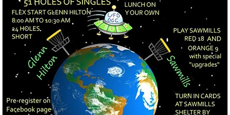 UFO Area 51 Disc Golf Challenge tickets