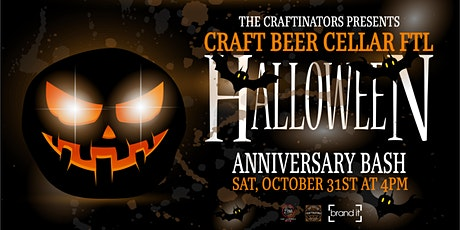 Craft Beer Cellar FTL Halloween Anniversary Bash tickets