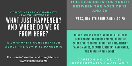 Community Conversations for Youth tickets