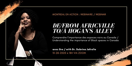 From Africville to Hogan's Alley: The importance of Black spaces in Canada tickets