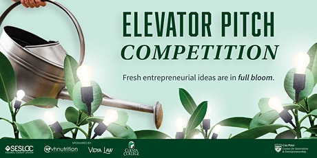 Elevator Pitch Competition Finals tickets