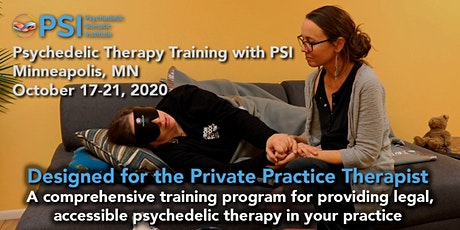 Psychedelic Therapy Training with PSI: Minneapolis, MN tickets