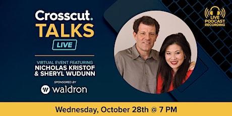 Crosscut Talks Live: Nicholas Kristof & Sheryl WuDunn tickets