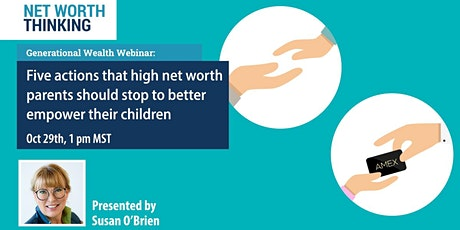 Financial Webinar: How to financially empower your children tickets