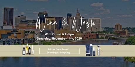 Wine and Wash with Camri and Felipa tickets