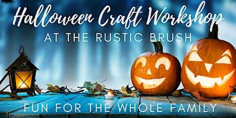 Halloween Craft Workshop tickets