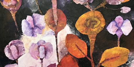 Painting workshop : Paint oil flowers fantasy Tickets