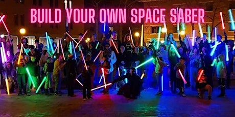 Make your own Space Saber tickets