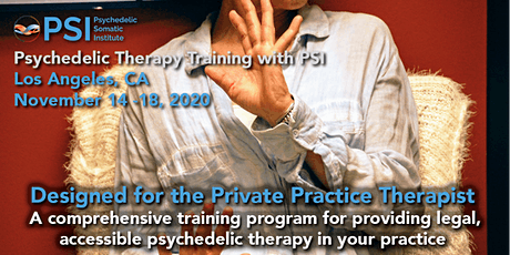 Psychedelic Therapy Training with PSI: Los Angeles, CA tickets