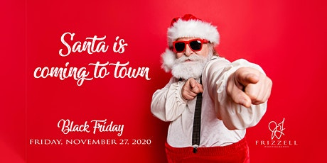 Black Friday Photos with Santa tickets