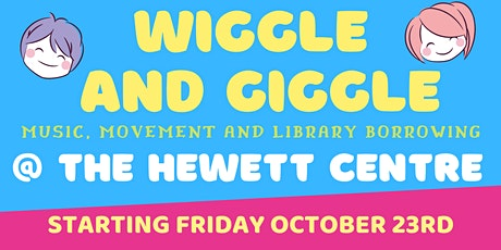 Wiggle and Giggle @ The Hewett Centre by The Light Regional Council Library tickets