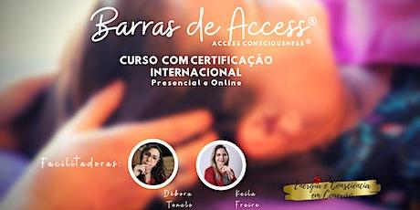 CURSO INTERNACIONAL  DE BARRAS DE ACCESS® ingressos