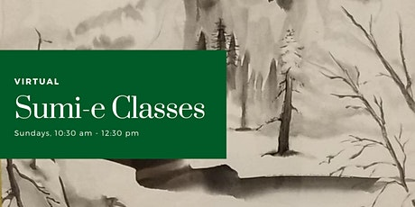 Virtual Sumi-e Classes December tickets
