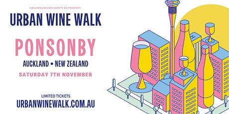 Urban Wine Walk Ponsonby tickets