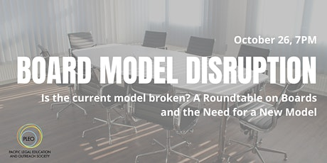 PLEO presents Board Table Disruption tickets