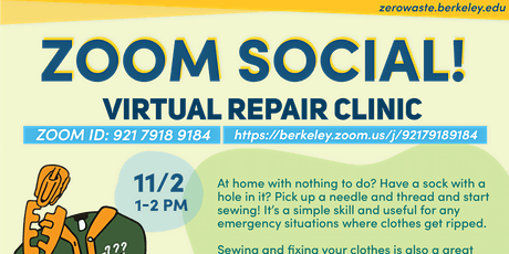 Virtual Repair Clinic tickets