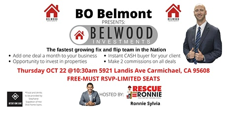 The Belwood tool- ADD 1 deal a month to your real estate business. tickets