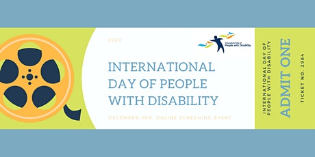 International Day of People with Disability Screening Event tickets
