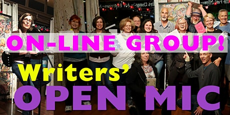 Writer's Open Mic - 2nd Fridays tickets