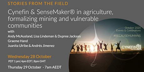 Stories from the Field: Cynefin-agriculture,formalizing mining, communities tickets