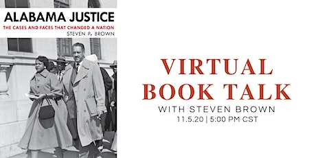 Virtual Book Talk • Steven Brown tickets