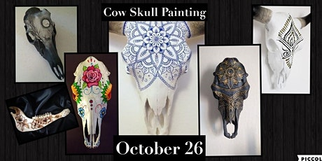 Painting on Cow Skulls tickets