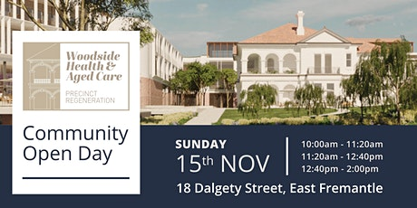 Community Open Day: Woodside Health and Aged Care Precinct Regeneration tickets