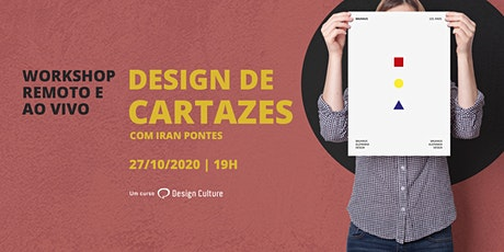 Workshop Design de Cartazes tickets