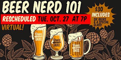 Beer 101 BeerNerd Virtual Class