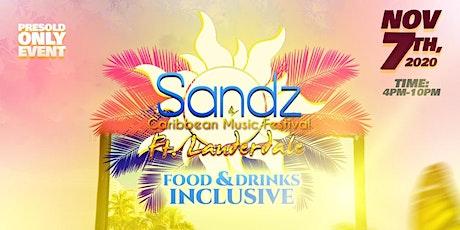 Sandz Caribbean Music Festival tickets