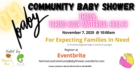 Na'ima's Love Third Annual: Community Baby Shower tickets