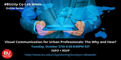 Visual Communication for Urban Professionals: The Why and How? tickets