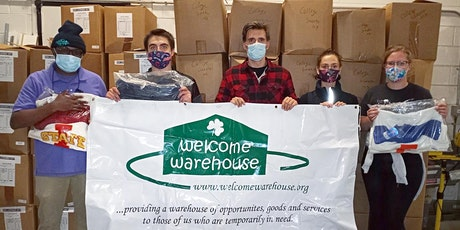 Volunteer at the Welcome Warehouse - 11/19/2020 tickets